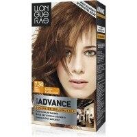 Tinte de cabello color chocolate dorado