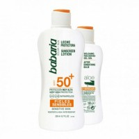 88ef6c80440f9 Babaria Babaria Leche Solar Sensibles SPF50 Y After Sun