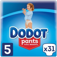 Dodot Pañales Pants T5 31 Unidades