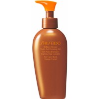 Shiseido Suncare brilliant bronze quick self-tanning gel for body