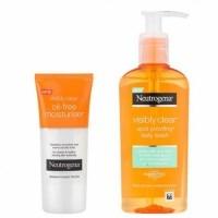 Neutrogena Visibly Clear Pack Hidrantante y Limpiador