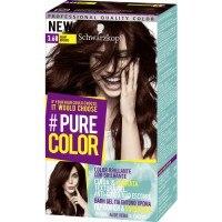 Pure Color Schwarzkopf Tinte Capilar 3.68 Vamp Brown