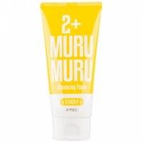 A'pieu 2+ Sticky Murumuru Cleansing Foam
