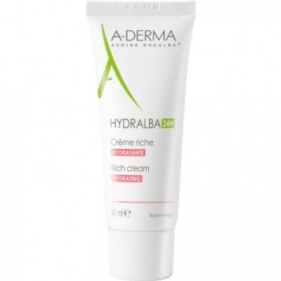 Aderma A-Derma Hydralba Crema Hidratante Rica
