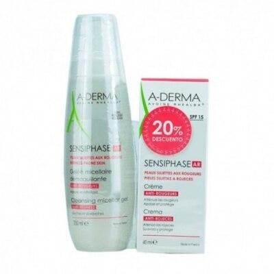 Aderma Pack A-Derma Sensiphase AR Antirrojeces