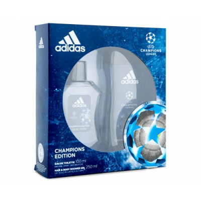 Adidas Estuche Adidas UEFA 4 Eau de Toilette