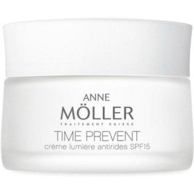 Anne Moller Time Prevent Luminosidad Antiarrugas Spf15