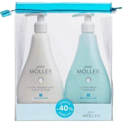 Anne Moller Anne Moller Pack Limpieza Pieles Mixtas Más Neceser