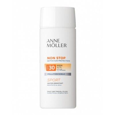 Anne Moller Protector Solar Fluido facial Non Stop Fluid