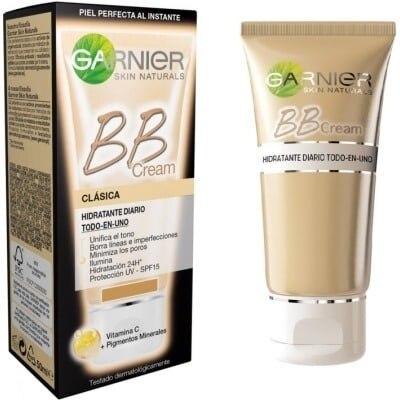 Garnier Skin Naturals Bb Cream Clásica Todo En Uno Medio