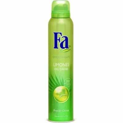 Fa Desodorante Spray Limones Del Caribe