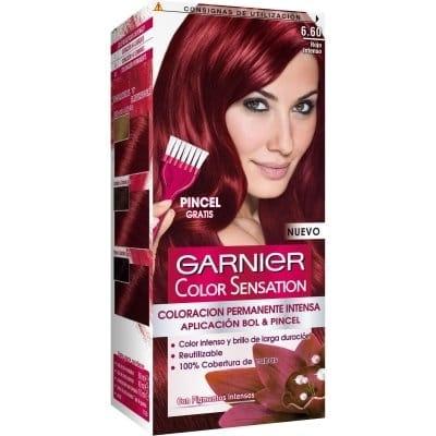 Color Sensation Tinte Capilar 6.60 Rojo Intenso