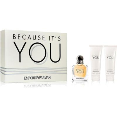 Armani Estuche Because It Is You 50 Ml Eau De Parfum Douglases