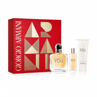 Armani Estuche Because It Is You