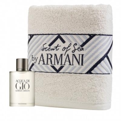 Armani Giorgio Armani Acqua Di Giò Cofre de Regalo para Hombre y Toalla