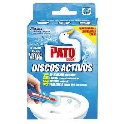 Pato WC Desinfectante WC Aparato Discos Marine