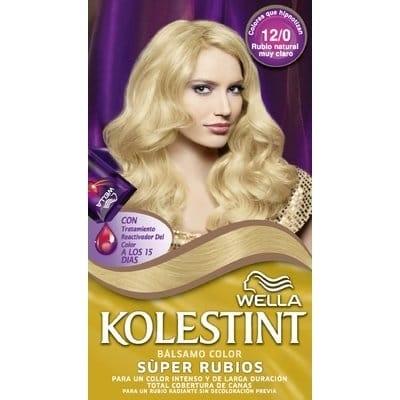 Kolestint Tinte Capilar 12/0 Rubio Natural Muy Claro