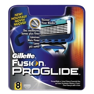 Gillette Cargador Fusión Proglide Manual 8 Cabezales