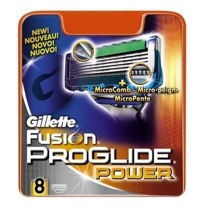 Gillette Cargador Fusión Proglide Power 8 Cabezales