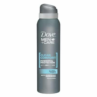Dove Desodorante For Men Spray Clean Comfort