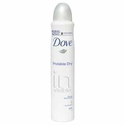 Dove Desodorante Spray Invisible