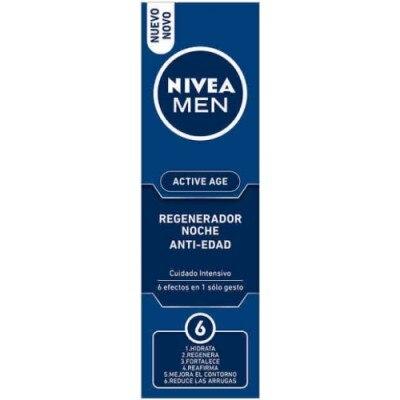 Nivea Crema Active Age For Men Noche