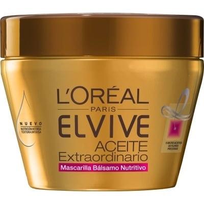 Elvive Mascarilla capilar 300 ml. Aceite Extraordinario