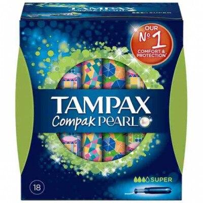Tampax Tampón Super 18 Unidades