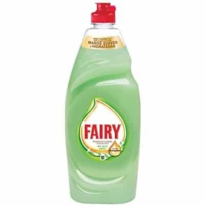 Fairy Fairy Detergente Lavavajillas Aloe Vera Concentrado