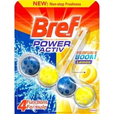 Bref Wc Desinfectante WC Power Activ Limón
