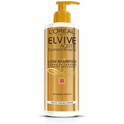 Elvive Champú Low Aceite Secos