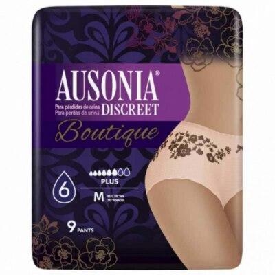 Ausonia Ausonia Braga Pañal Discreet Boutique Black