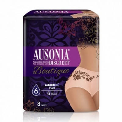 Ausonia Braga Pañal Ausonia Discreet Pants Boutique Black
