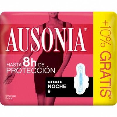 Ausonia Compresa Air Dry Noche