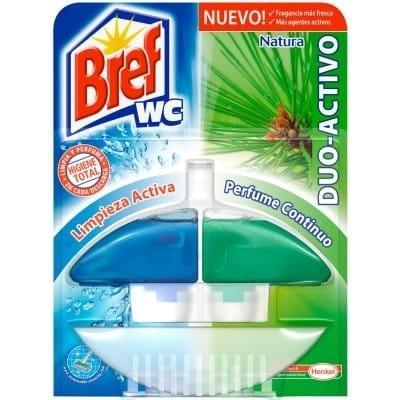 Bref Wc Desinfectante WC Dúo Activo Verde Aparato