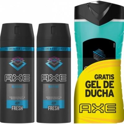 Axe Axe Desodorante Spray Duplo Mas Ice Gel