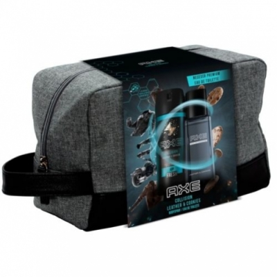 Axe Neceser Axe Leather and Cookies