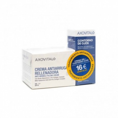 Axovital Pack Axovital Crema Antiarrugas Día Más Contorno Ojos