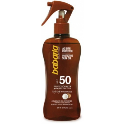 Babaria Babaria Aceite Coco Spray SPF50