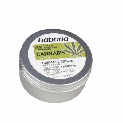 Babaria Babaria Body Cream Cannabis