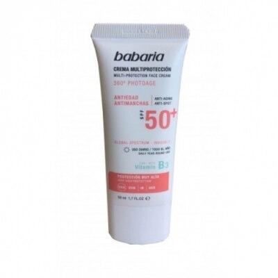 Babaria Babaria Bronceador Crema Multriprotección Spf 50