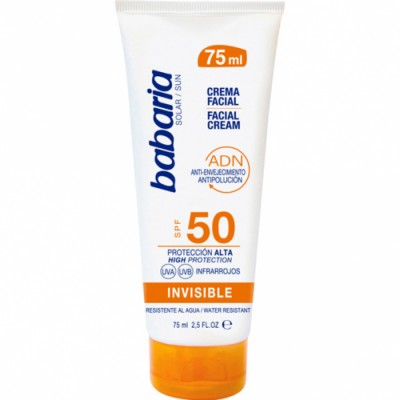 Babaria Babaria Crema Facial Solar Invisible SPF50