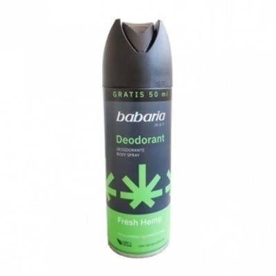 Babaria Babaria Desodorante Body Spray Fresh Men Hemp