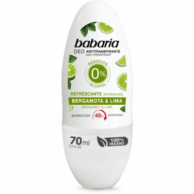 Babaria Babaria Desodorante Roll On Bergamota