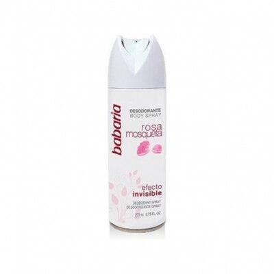Babaria Babaria Desodorante Spray Invisible Rosa Mosqueta