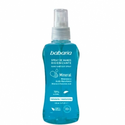 Babaria Babaria Gel de Manos Sanitizer Mineral Spray