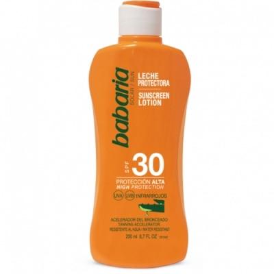 Babaria Babaria Leche Protectora Solar Aloe Vera SPF30