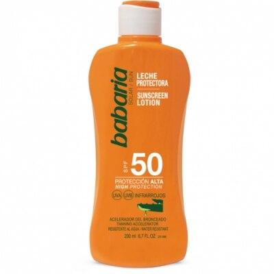 Babaria Babaria Leche Protectora Solar Aloe Vera SPF50