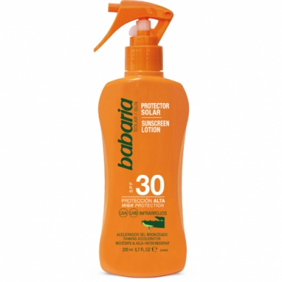 Babaria Babaria Spray Protector Solar Aloe Vera SPF30