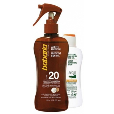 Babaria Pack Babaria Aceite Protector Coco SPF30 y After Sun